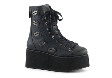 GRIP-103 Platform Ankle Boots