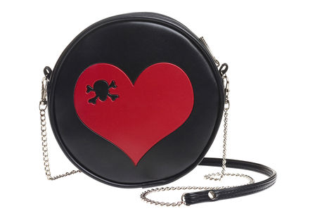Heart shoulder bag