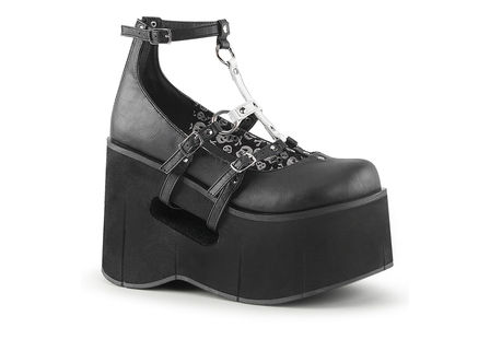 KERA-09 Black Platform Shoes