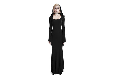 Maya Women's Hooded Gothic Dress