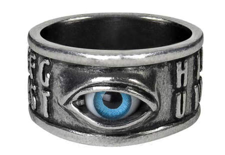 Alchemy Ouija Eye Ring