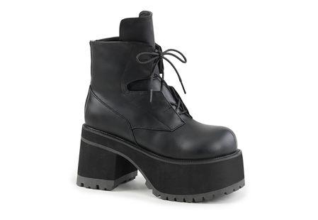 Ranger-102 Women's Black Platform Boots