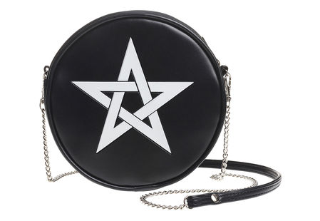 Pentagram shoulder bag