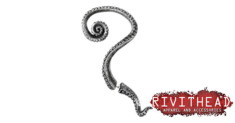 Kraken Ear Wrap Earring Cuffs
