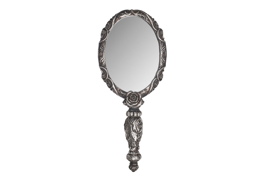 Baroque Rose Hand Mirror By Alchemy Of England